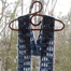 alternating windowpanes scarf