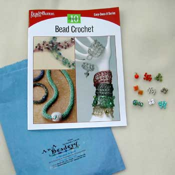 Bead Crochet booklet and beads