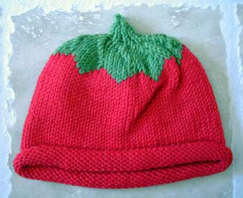 tomato hat by Jess
