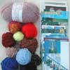 yarn and postcards