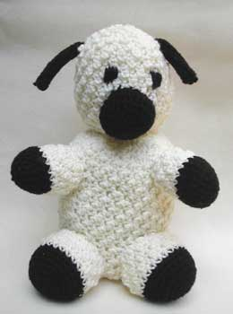 sheep crocheted by Mary Jo