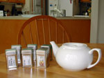 teapot and teas