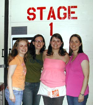 group at Stage Door