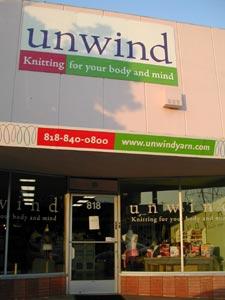 Unwind storefront