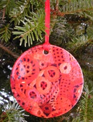 scrumble ornament