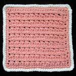 #12 - open ridge stitch
