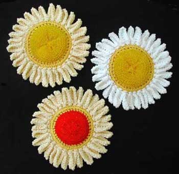 flower scrubbies